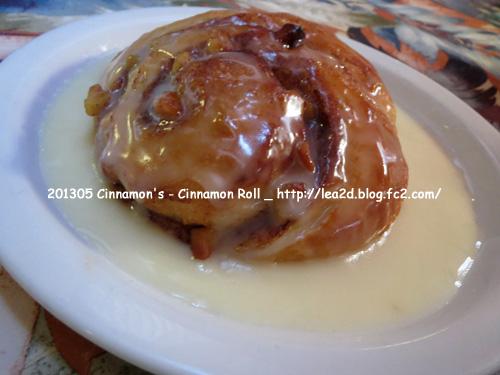 2013年5月 Cinnamon's Restaurant - Cinnamon's Roll