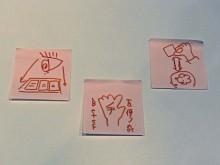 ラーニングデザイナー 加藤弘道のブログ-振り返りの3枚のカード