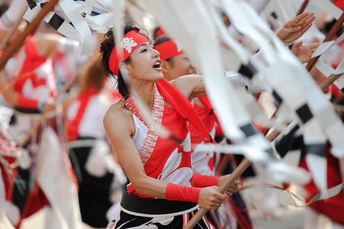 東京よさこい2013トップは 愛知・犬山の 笑゛さん東京よさこい初参戦(関東初ですかね)