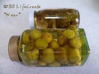 梅シロップと梅酒