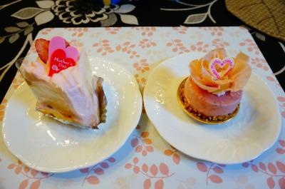母の日シフォン&母の日ムースケーキ