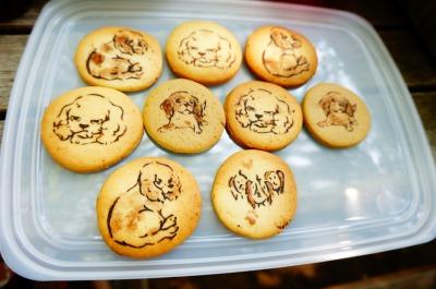 うきゃーキャバリアクッキーがあるー!