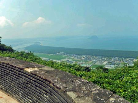 鏡山からの風景