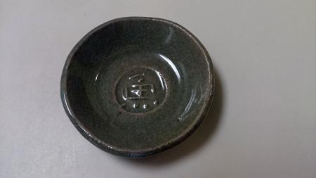 頭文字の皿