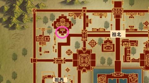 春の大使地図