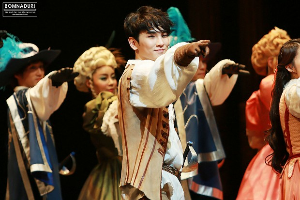 140103 THE THREE MUSKETEERS pm8 4th - 1-4