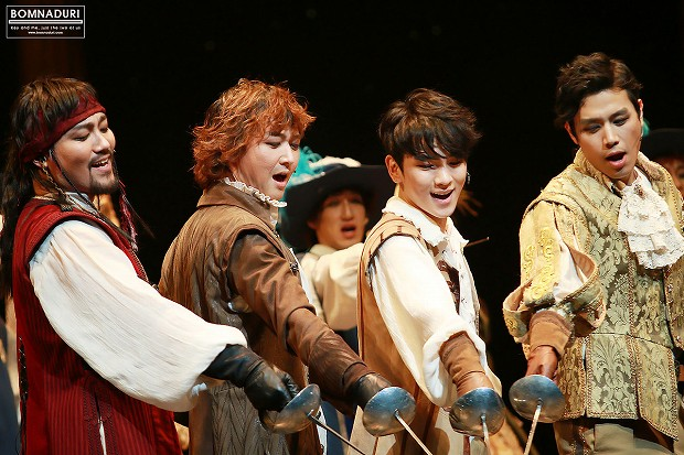 140103 THE THREE MUSKETEERS pm8 4th - 1-3