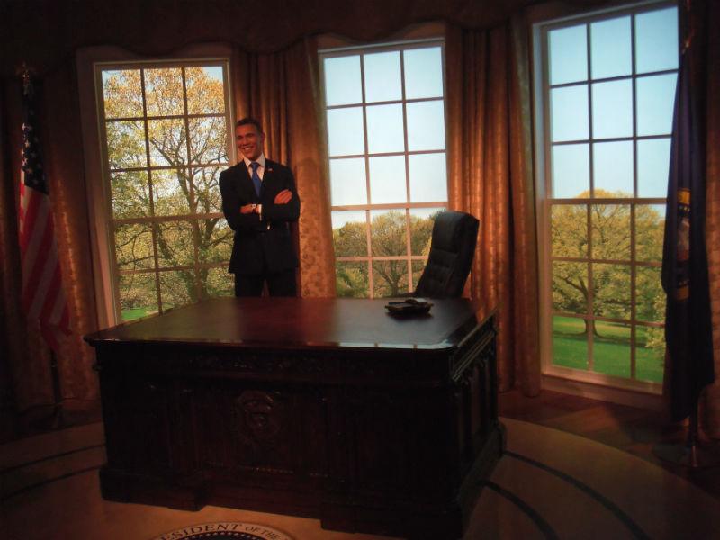 オバマ大統領 マダムタッソー