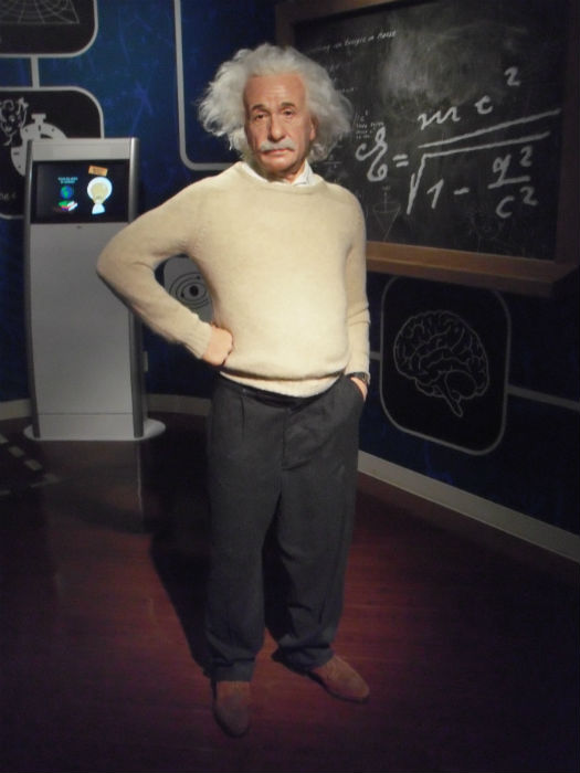 アインシュタイン マダムタッソー