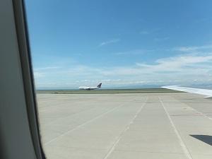 快晴の中部国際空港