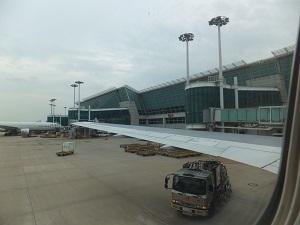 仁川空港・曇り