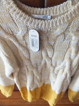 セーター買いました!