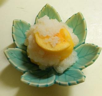 柿と牛肉の牡蠣ソース炒め&柿の大根おろしあえ&柿フライ7