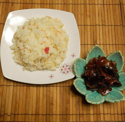 芝田先生のしょうがの佃煮ハーブの恵みのしょうがチャーハン11