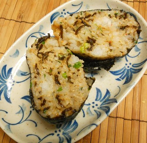 秋のソウルフード芋煮おにぎり三種25