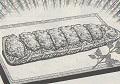 ゴーヤの納豆キムチグラタン図