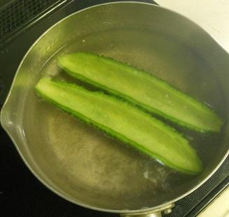 ゴーヤの納豆キムチグラタン2