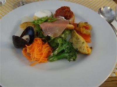 1360円の前菜