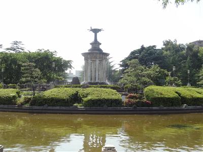 鶴舞公園 噴水