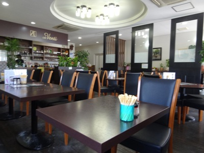 cafe Venti(ヴェンティ)の店内の様子