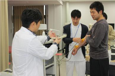 【理学療法士科】低周波治療器の体験
