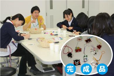 【作業療法士科】作業を体験☆プラ板細工