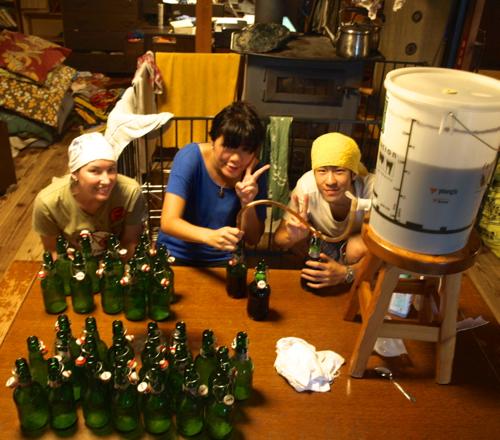 20130725ビールボトリングエラ・クレア・海くん