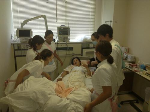 20130806 看護師さんたち