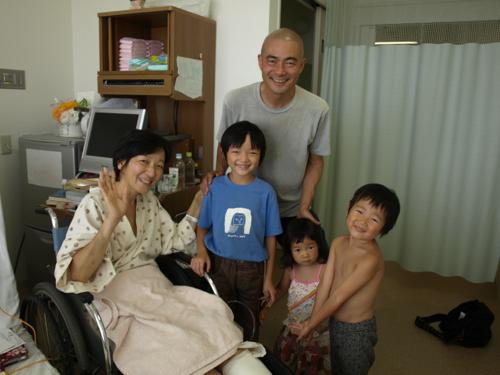 20130813旧七夕に病室で