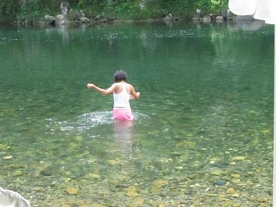 川 気持ちいい~