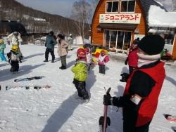 八千穂高原スキー場 ジュニアランド スキーレッスン