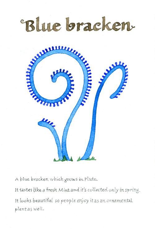 blue bracken