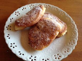 自家製ホットケーキミックスで作ったドーナツ画像