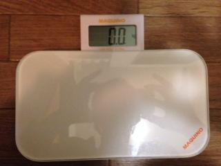 マッキーノ 体重計画像