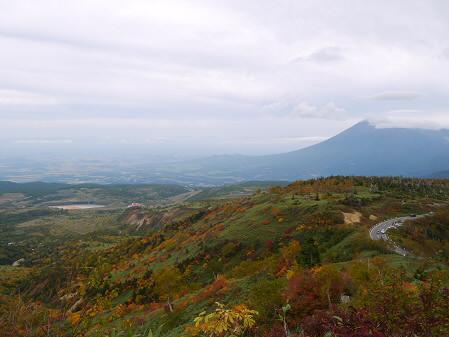 茶臼岳登山道から(2013.10.5)