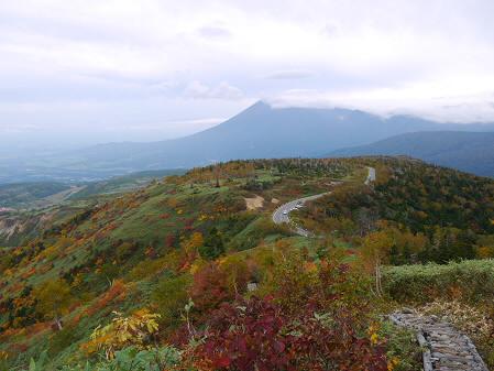 茶臼岳登山道から(2013.10.5)②