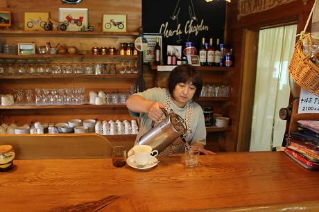 七時雨山荘茶居花のコーヒー09(2013.7.15)