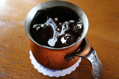 七時雨山荘茶居花のコーヒー07(2013.7.15)