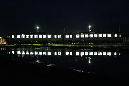 夜水田と花輪線09(2013.5.16)
