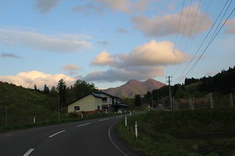 夕方田んぼのある風景17(2013.5.23)
