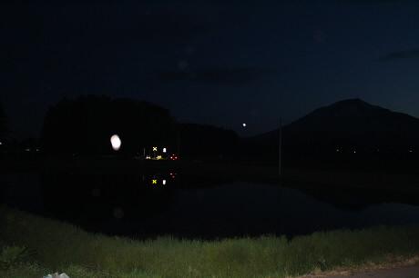 西根夕方田んぼのある風景08(2013.5.23)