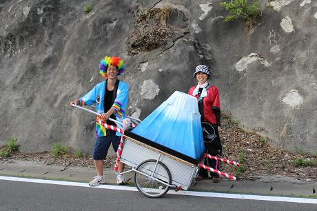 富士夢祭りの一行07(2013.6.21)