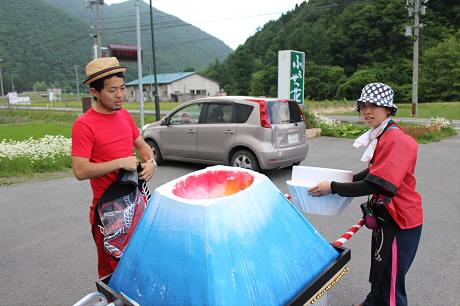 富士夢祭りの一行08(2013.6.21)