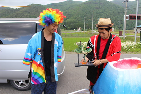 富士夢祭りの一行12(2013.6.21)