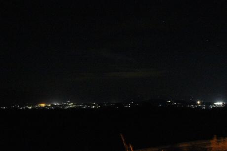 焼走り線の夜景01(2013.9.28)