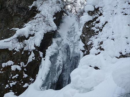 不動の滝へ!21(2013.1.30)
