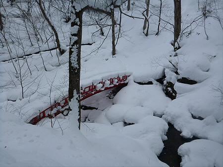 不動の滝へ!22(2013.1.30)