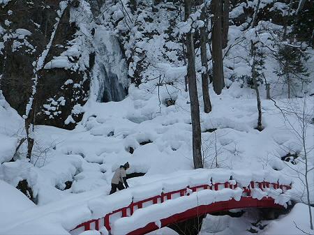 不動の滝へ!23(2013.1.30)