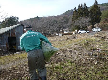 三田村さんとホウレンソウ08(2013.3.27)