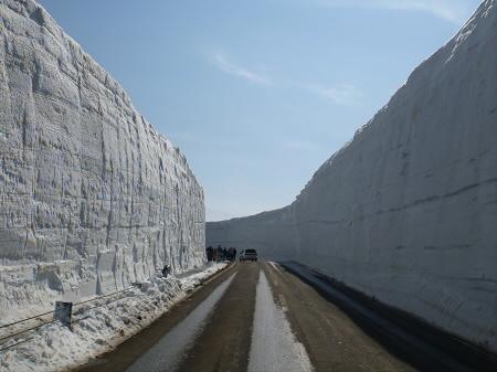 雪の回廊秋田02(2013.4.29)